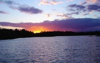 Lake Kabetogama Sunset